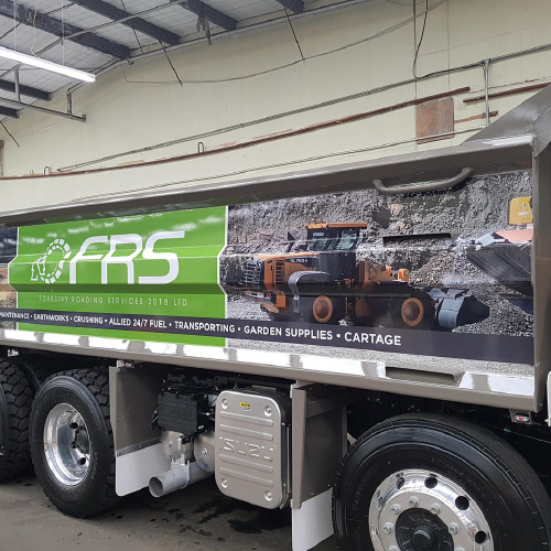 ProSigns FRS trailer vehicle wrap