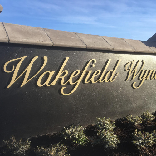 Wakefiled Wynd 3D sign by ProSigns