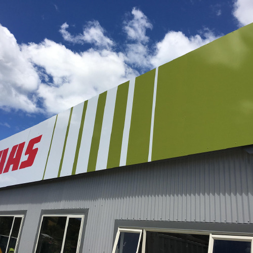 CLAAS building sign by ProSigns