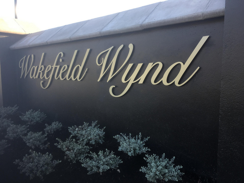 3D building signage by ProSigns for Wakefield Wynd